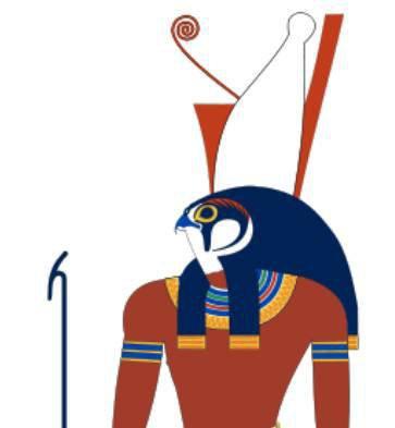 这个小孩儿,就是 荷鲁斯(horus).