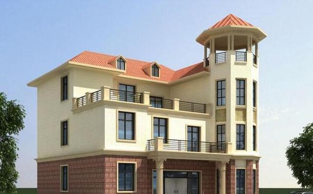 7套极适合农村人自建的别墅户型, 现代实用拿回家就能