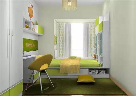 2016年现代小户型房间榻榻米床装修效果图