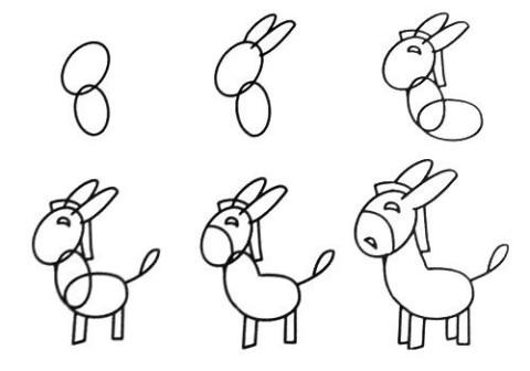 一笔一笔学画画~小动物 点击加载图片 一笔一笔学画画--兔子 点击加载