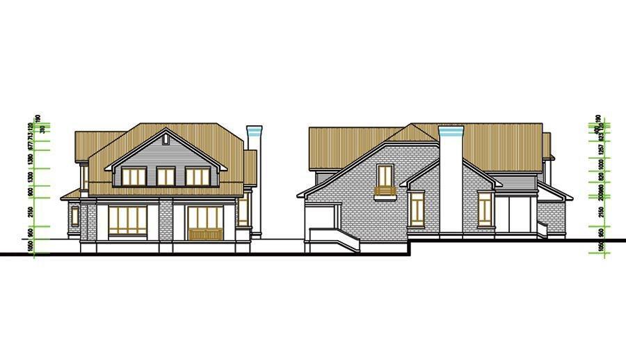 农村超小户型2层自建房-农村自建别墅户型图|60平方米