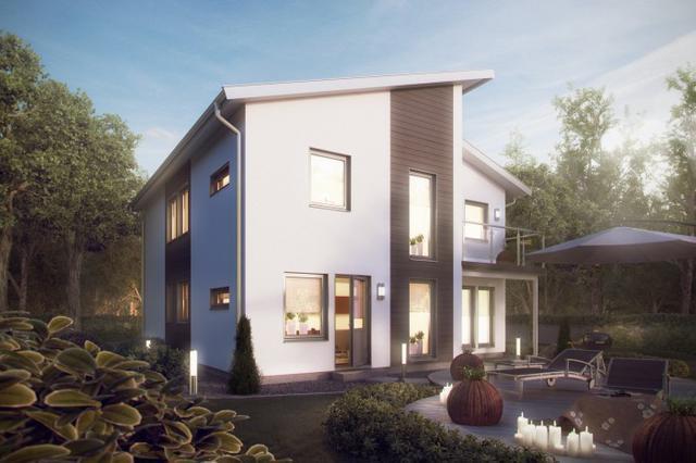 这个小别墅户型设计比较时尚,不同坡度的屋顶显得俏皮可爱;外部装饰简单、大方,总体比较经济:  现在物价上涨,尤其是人工费越来越高,由于是当地自己出力建,所以20万勉强做好框架,装修费用不止20万。  平面图看不懂字没有关系,看家具摆设就知道是哪个房间了。   在你家宅基地上盖这样一栋房子需要多少钱?