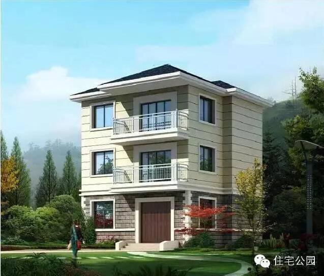 农村60平米小户型自建房设计图分享展示