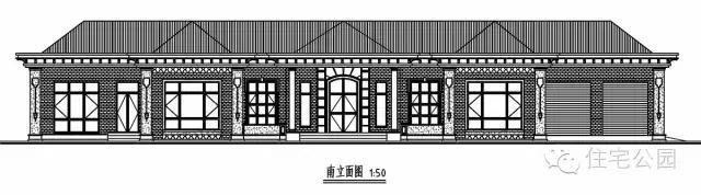 东北农村自建房, 带锅炉火炕的平层别墅33x11米, 实用