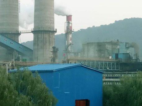 点击加载图片 3.唐山东海钢铁集团有限公司高炉炉顶排放黑烟.