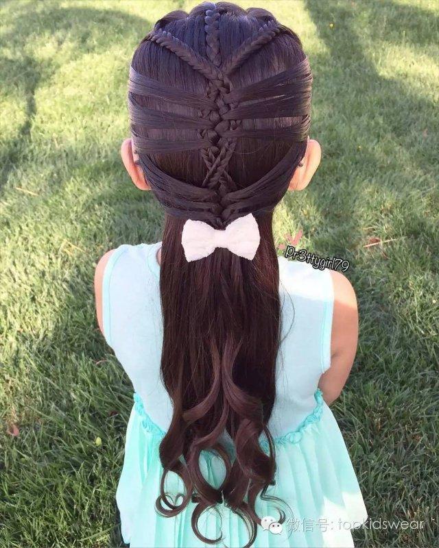 发型弄得好, 谁都可以是小公主_发型设计