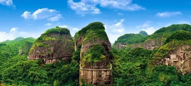 就在广东梅州平远五指石景区!