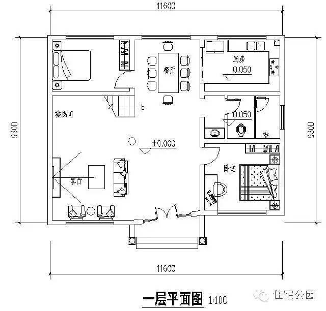 9x11米自建房屋设计图展示