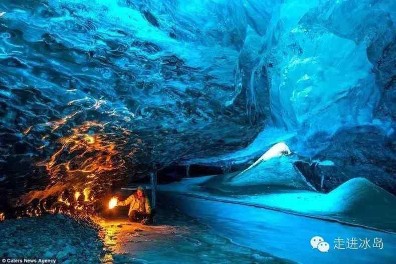 走出这个世界-冰岛蓝冰洞