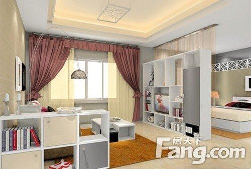客厅改卧室隔断小户型设计