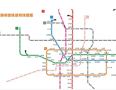 郑州地铁17号线 商贸次中心至双鹤湖