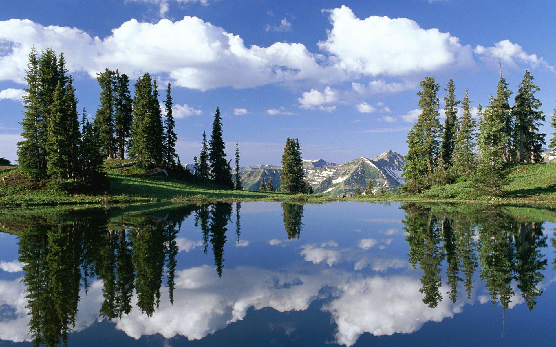汽车图片壁纸 湖泊山水图片壁纸 国内最美山水湖泊风景 _壁纸素材_百
