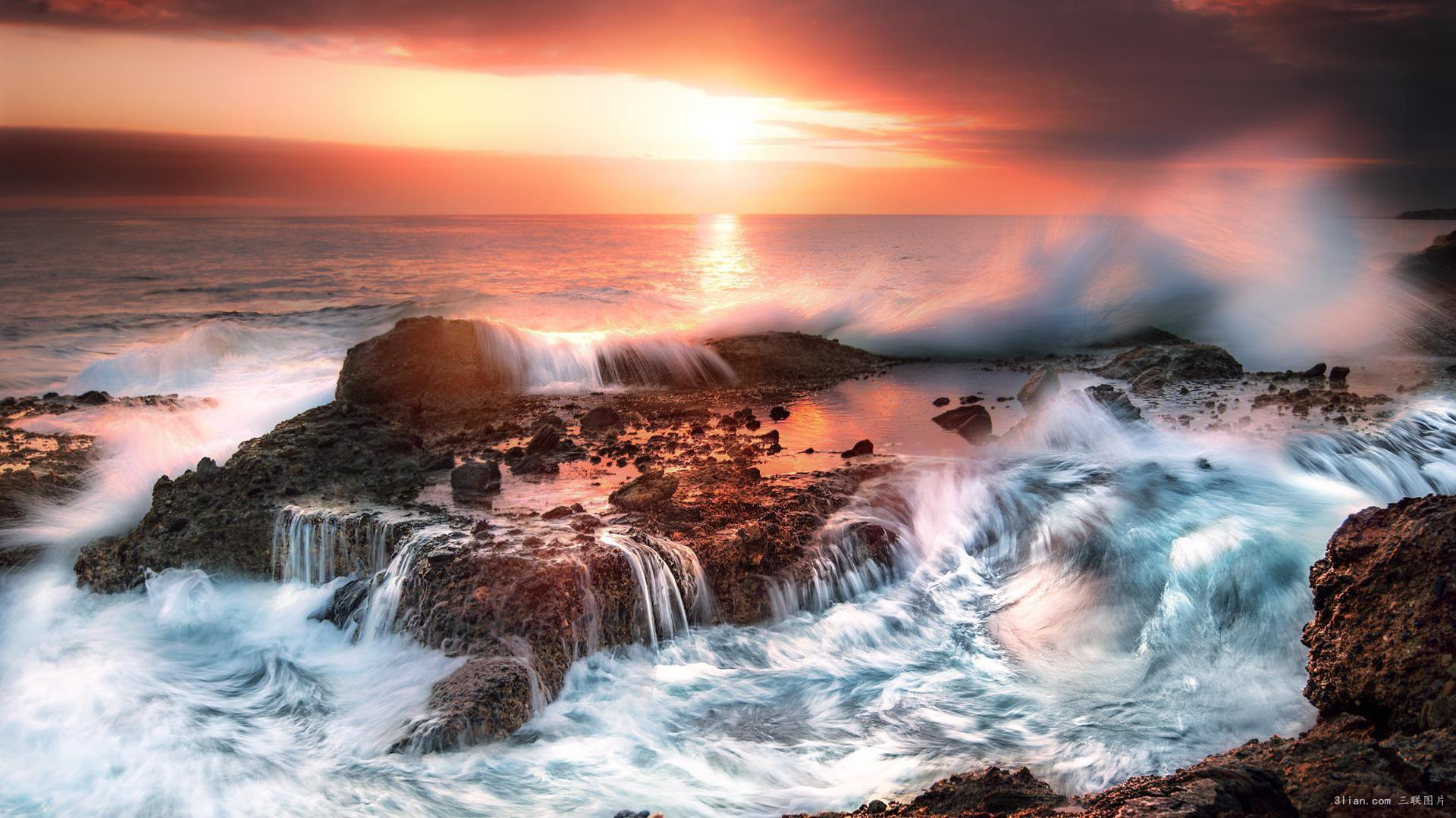 古风风景图片大全 美国加州风景图片大全(9张) _壁纸素材_百优a精美