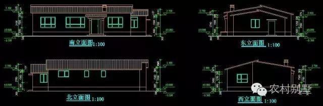 北方火炕平房设计图