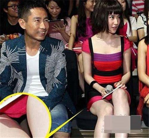 一线女星着短裙不慎走光合集图片