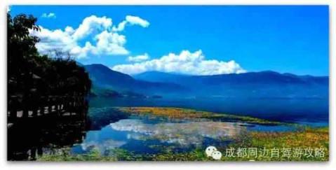 作为国家重点风景名胜区,邛海的风景绝对对得起这个称号!