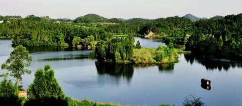 特色旅游风情小镇,创建国家4a级旅游景区,未来八尔湖将成为南部县又一