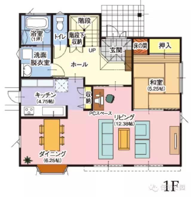 日本农村自建房户型5套 平面布局落后中国50年