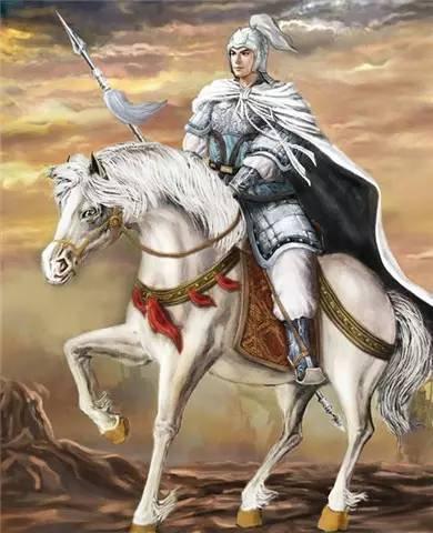 马将军漫画图片赵子龙-古代骑马将军漫画图片