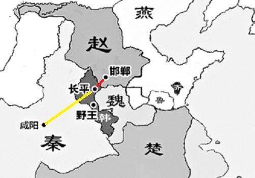 秦国地图背景图片