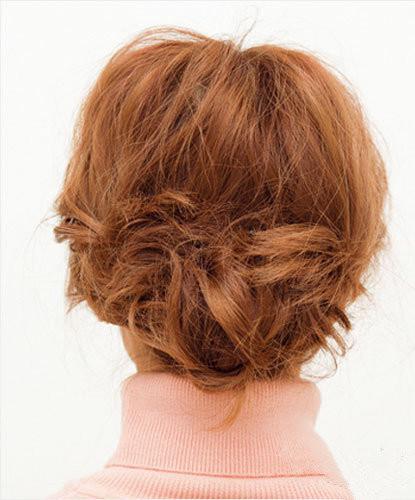 低盘发型步骤图解 四个步骤盘出女人味