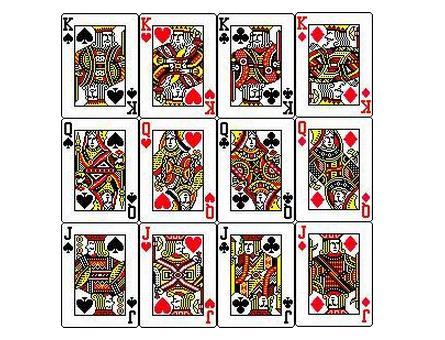 扑克中jqk背后的秘密, 瞬间感觉白打那么多年斗地主了