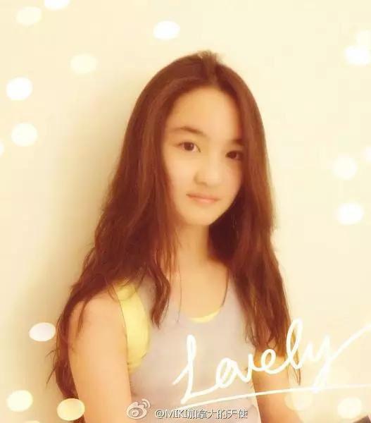 IKI长这样,16岁的她比四年前看起来成熟许多,跟张木易一起也没那图片