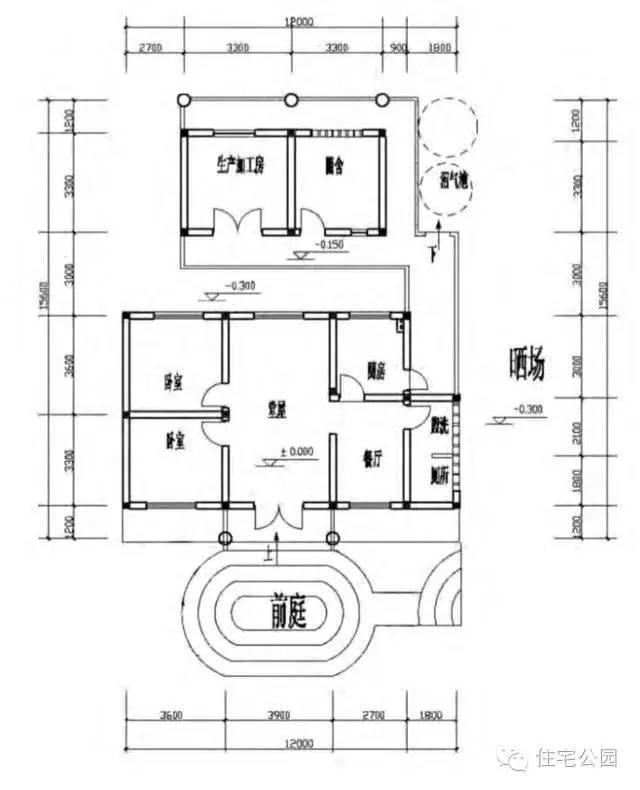 平房和二层农村自建房,地震设防烈度低的地区砖混结构就可以,造价低经