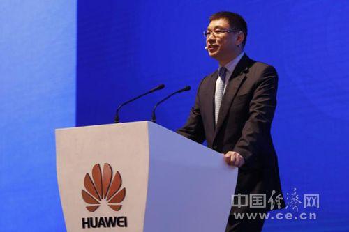 华为常务董事、战略Marketing总裁徐文伟发表主旨演讲