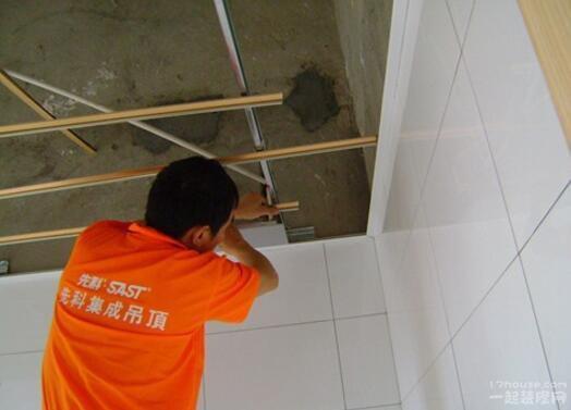客厅吊顶电线安装图解