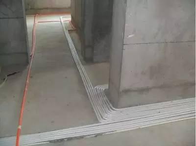 楼房室内水电安装图