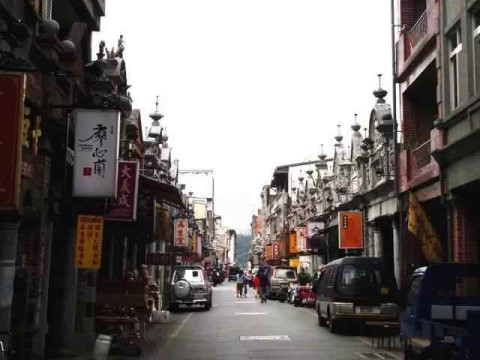 壁纸 步行街 街道 街景 商业街 小巷 480_360