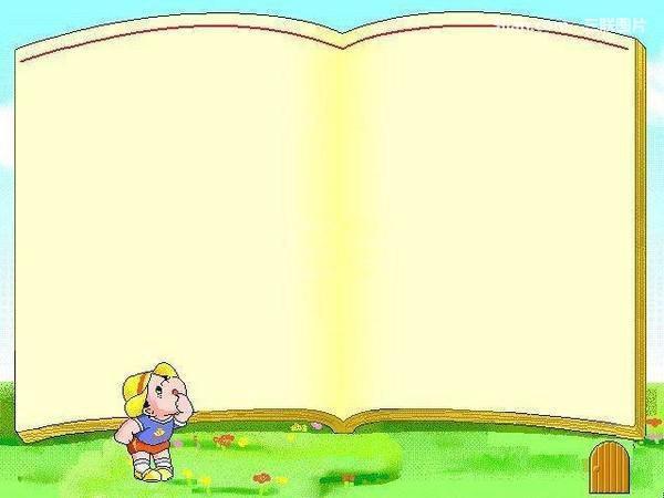 图:可爱卡通玩具ppt背景图片
