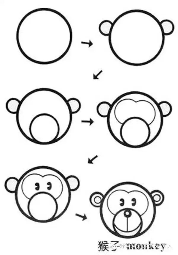 [一家人吃月饼简笔画]中秋人物吃月饼简笔画