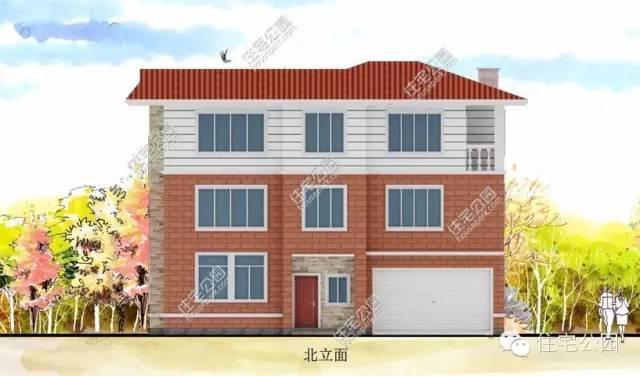 农村小户型两层自建房设计图展示