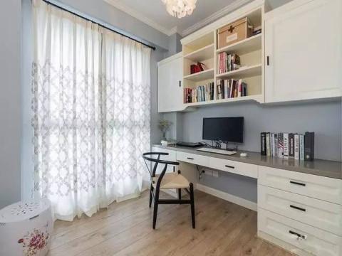 案例| 86㎡小户型, 也能自带书房和露台