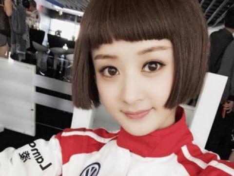 同是齐耳短发, 赵丽颖机灵可爱, 娜扎很美却不如郑爽!