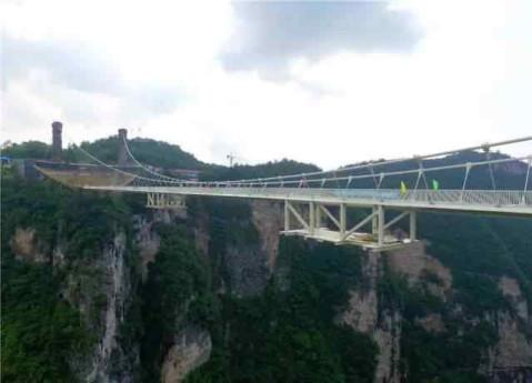 张家界玻璃桥开放时间定了! 8月20号! ! 还有最新最全