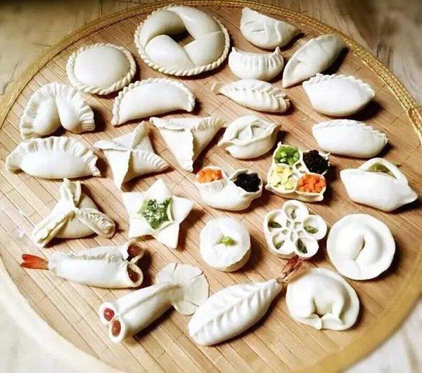 21种花样饺子包法 你都学会了吗?