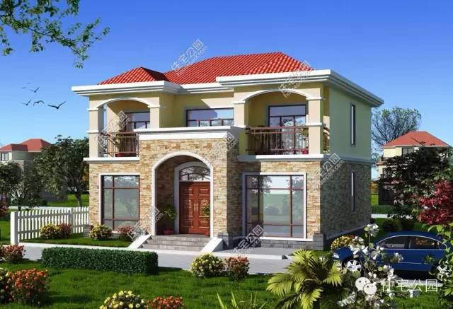 14米x11米别墅设计图