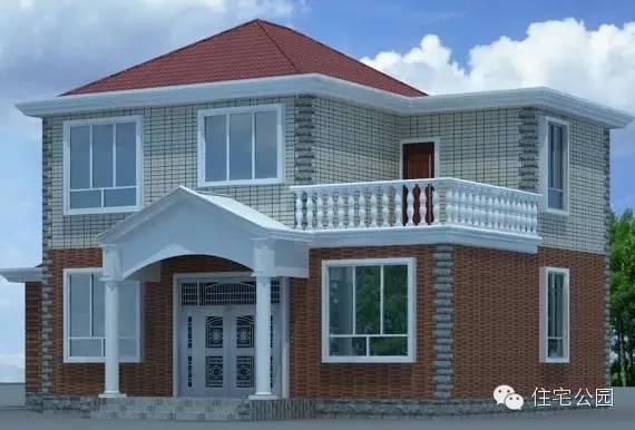 新农村自建房带神位 2层10米x9米 含平面图