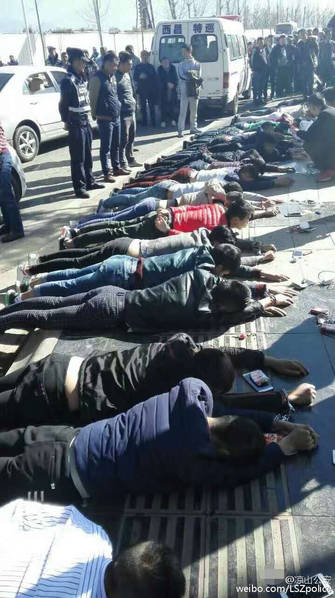 四川: 6辆车23人准备聚众斗殴被一锅端