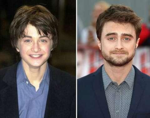 哈利波特 演员16年前后对比, 谁的变化大