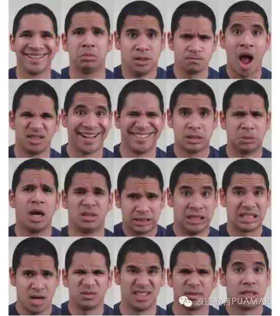 察人有术: 辨别不同的面部表情丨两性心理图片