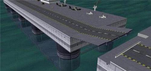 选择超大型海洋浮式结构物进行海洋开发是由于它与其
