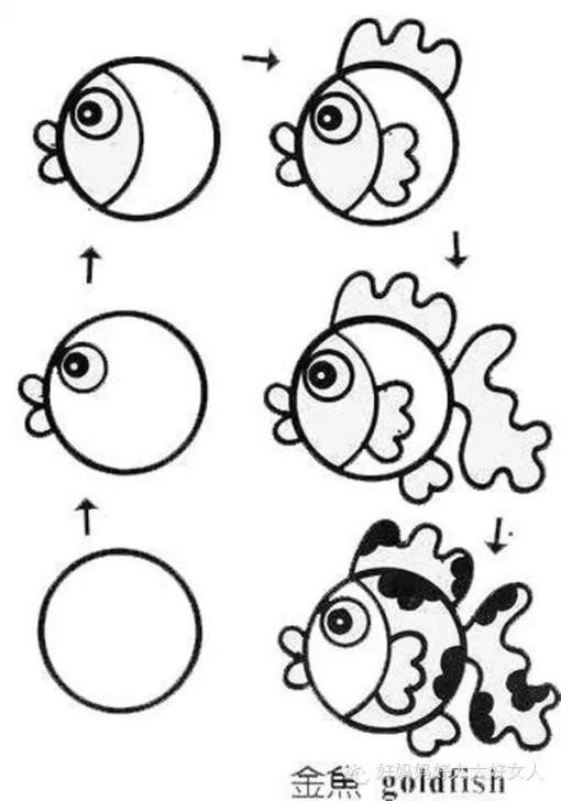 中秋人物吃月饼简笔画