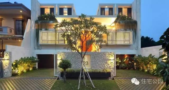 经济型别墅天井设计