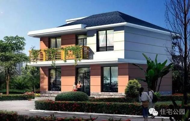 10x10米房子别墅设计图