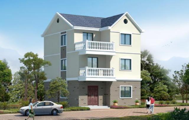 农村自建房户型设计图展示