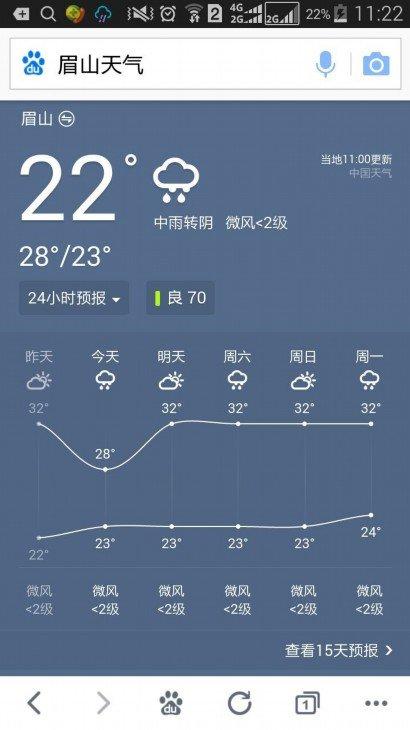 成都崇州十五天天气预报15天+
